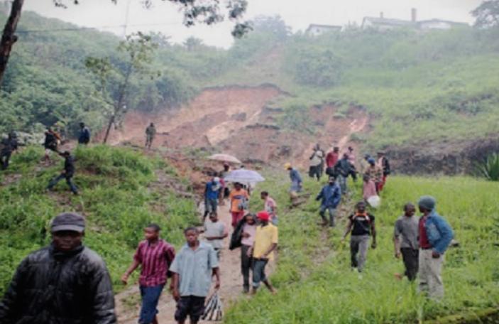 Најмалку 14 мртви при лизгање на земјиште во Камерун