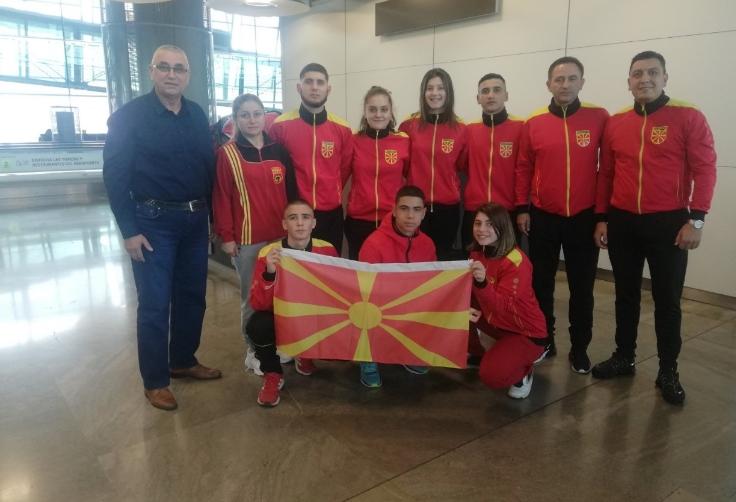 Македонските каратисти пристигнаа во Чиле