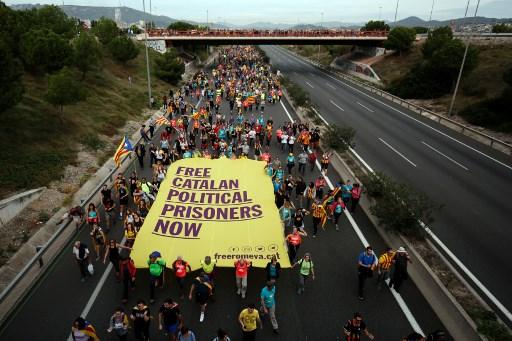 Генерален штрајк во Каталонија