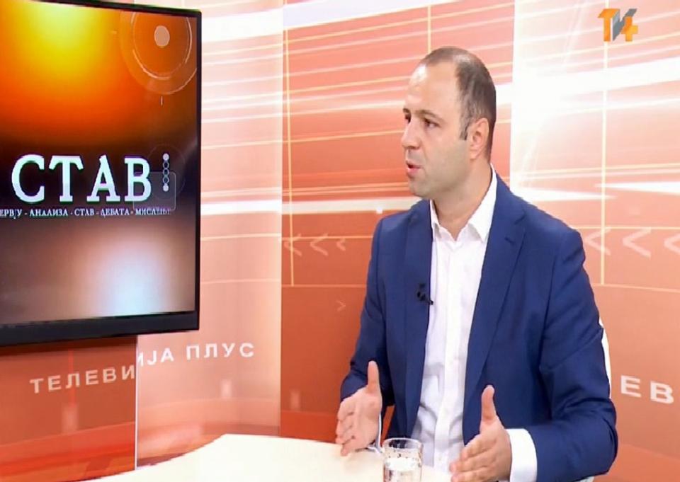 Мисајлоски: СДСМ не може да сокрие народот да дознае дека тие се главните извршители на Рекет