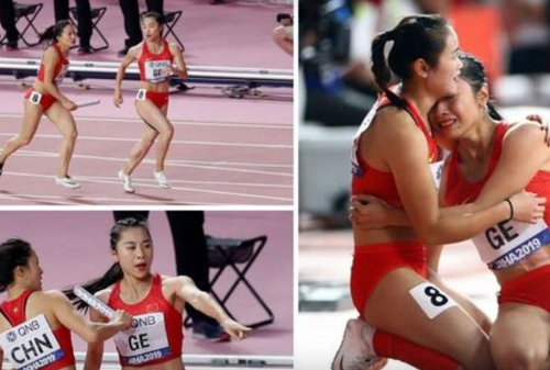 ВИДЕО: Циркуз во Доха – цел свет им се смее на кинеските атлетичарки!