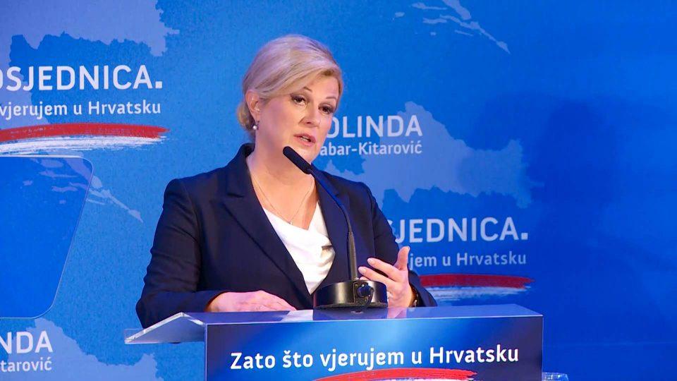 Колинда Грабар-Китаровиќ ја објави кандидатурата за претседателка на Хрватска