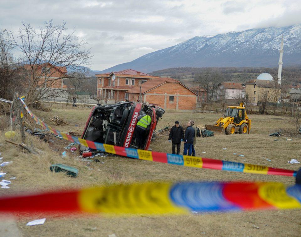 """Автобусот на """"Дурмо турс"""" удрил со 10 пати поголема јачина од онаа што би ја поднела оградата"""