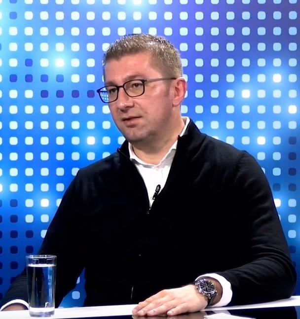 Мицкоски: Барав наредната недела да се распушти парламентот и првиот ден после 100 дена техничка влада да имаме избори, Заев тоа не го прифати, ќе победиме и во април