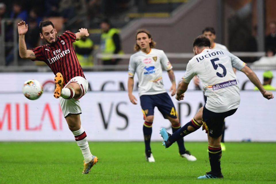 Милан испушти победа против Лече