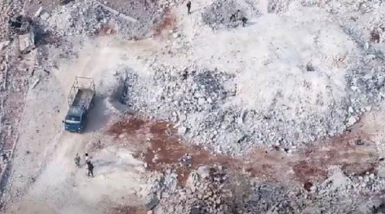 Објавена снимка од местото каде што бил убиен шефот на ИСИС (ВИДЕО)