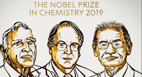 Нобелова награда за хемија за научници за развој на литиум-јонски батерии