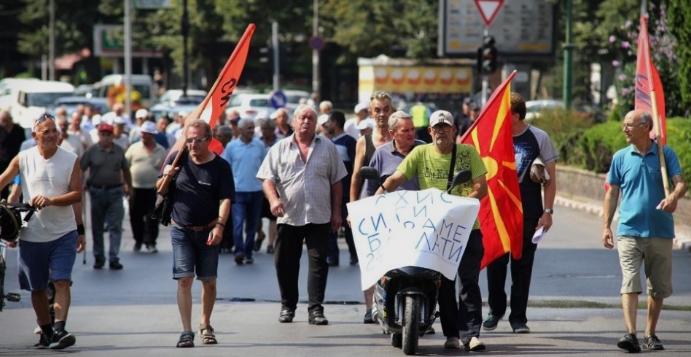 Денеска повторно протестираат поранешните вработени во ОХИС: Со години никој не реагира на нашите барања