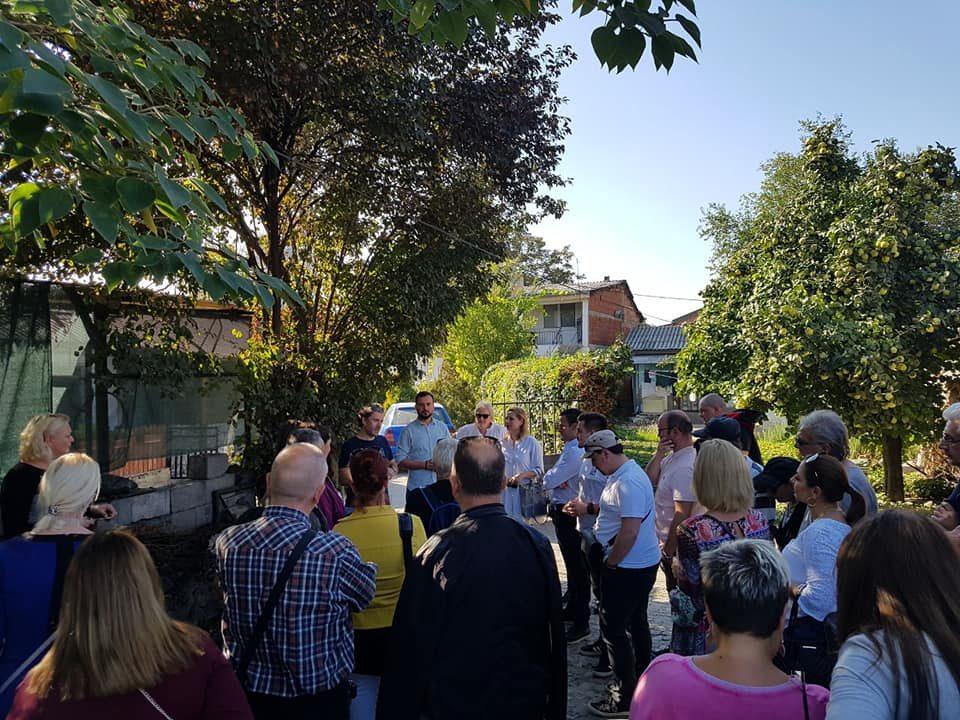 ОК Центар на ВМРО-ДПМНЕ: Се што им било ветено на жителите на Крњево, ништо не е исполнето од страна на Богдановиќ