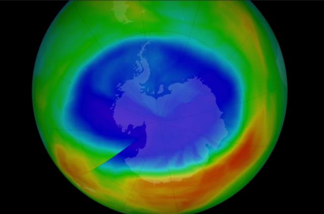НАСА: Поради топлото време се намалила озонската дупка