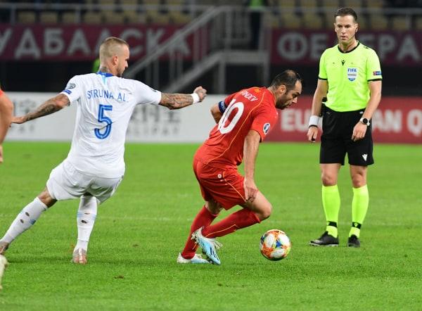 ВИДЕО: Пандев асистира, Елмас погодува, Македонија води против Словенија