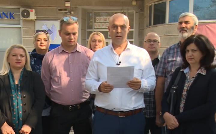 Антовски: Катастрофата што и се случува на општина Аеродром, има име и презиме Златко Марин
