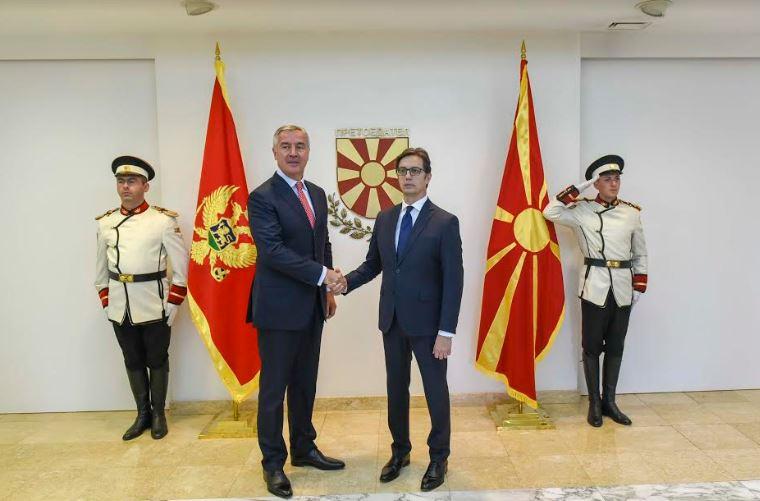 Пендаровски домаќин на црногорскиот колега Ѓукановиќ