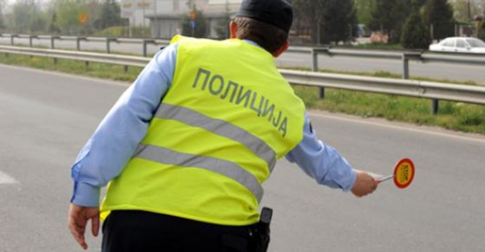 Минатиот месец санкционирани 2401 возач во тетовско