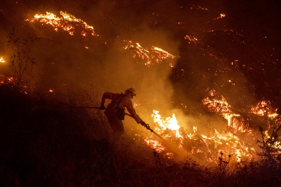 Причината ќе ве изненади: Пожарникари сами палат пасишта
