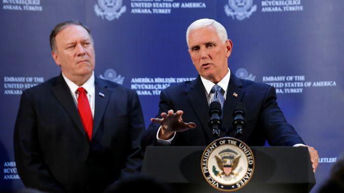Постигнат договор со САД: Турција привремено ќе ја запре офанзивата во Сирија