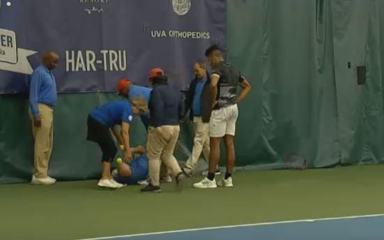 Скандал на тениски терен: Играч нокаутираше судија со рекет (ВИДЕО)