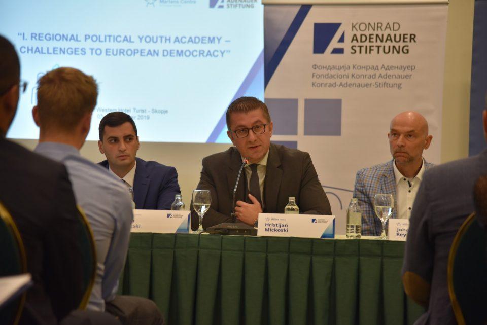 Мицкоски: Немаме друга опција освен да го обновиме нашиот економски, правен, социјален и политички систем