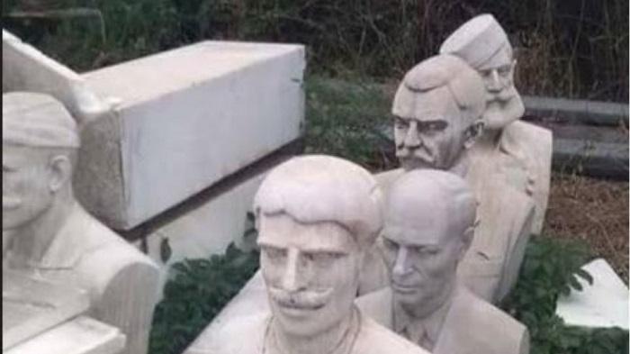 Отстранетите бисти на грчки херои за обединување со Македонија ќе бидат поставени повторно во Солун