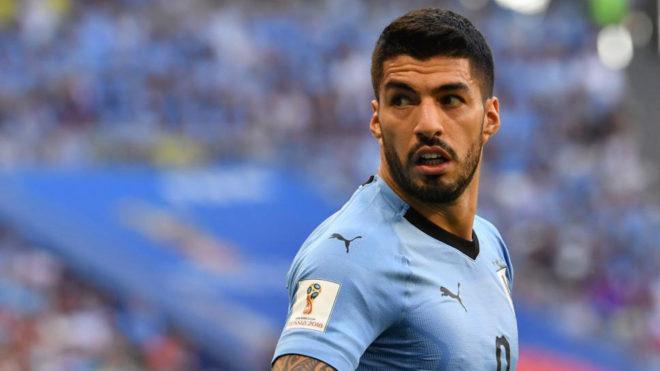 Суарез ќе ги пропушти претстојните два натпревари во Уругвај