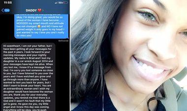 Четири години му праќала пораки на починатиот татко, а потоа еден ден добила одговор ФОТО