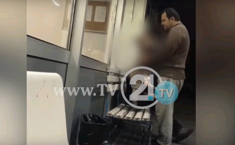 Татко тепа дете на автобуска станица, Центарот за социјални работи ги згрижи децата