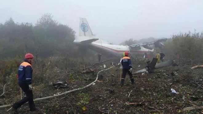 ФОТО: Тројца загинати при принудно слетување на товарен авион во Украина