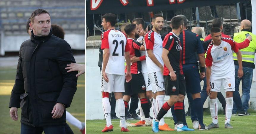 Васоски до Шкендија: Го уназадувате фудбалот, секогаш во Скопје сте дочекани коректно