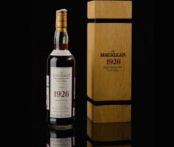 """Шише виски """"Макален"""" од 1926 година продадено за рекордни 1,9 милиони долари"""
