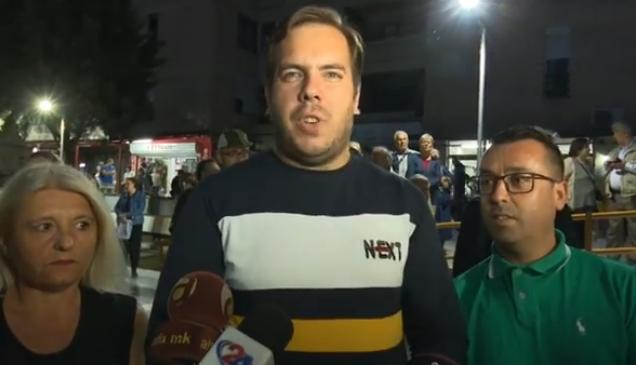 """Советничката група на ВМРО-ДПМНЕ и Коалицијата даде поддршка на протестот """"Автокоманда сака да дише"""""""