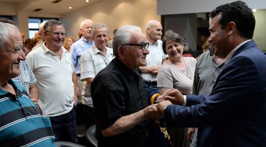 Комисија за економија на ВМРО-ДПМНЕ: Заев ги разочара, ограби и излажа пензионерите дека ќе ги зголеми пензиите!