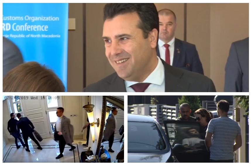 """Стариот телефон на Заев е во Струмица- ќе се дознае ли дали му пишувале обвинетите во """"Рекет""""?"""