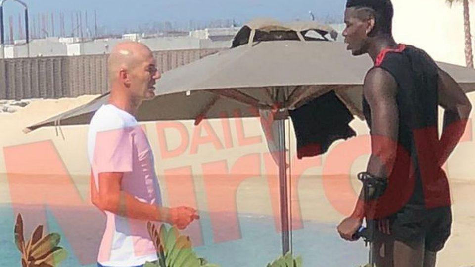 """""""МИРОР"""": Зидан во Дубаи го убедил Погба да дојде во Реал Мадрид (ФОТО)"""