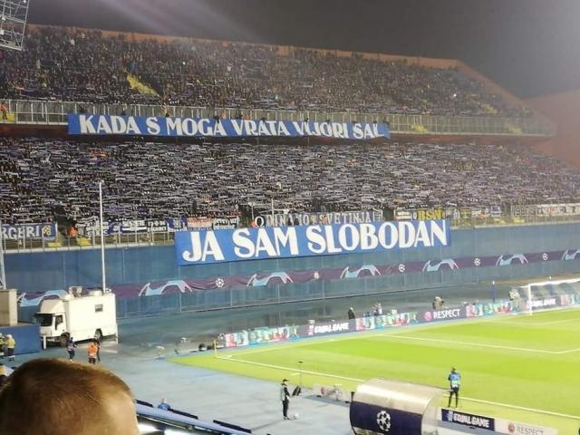 Хрватска забранува носење шалови на стадион, БББ одговорија маестрално! (ФОТО)