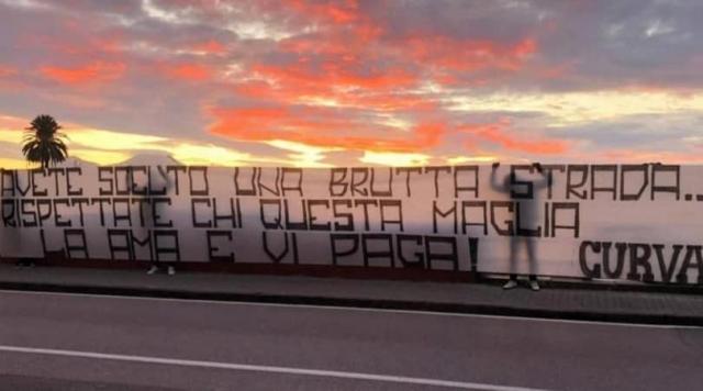Навивачите имаат порака до Елмас и другарите: Избравте погрешен пат! (ФОТО)