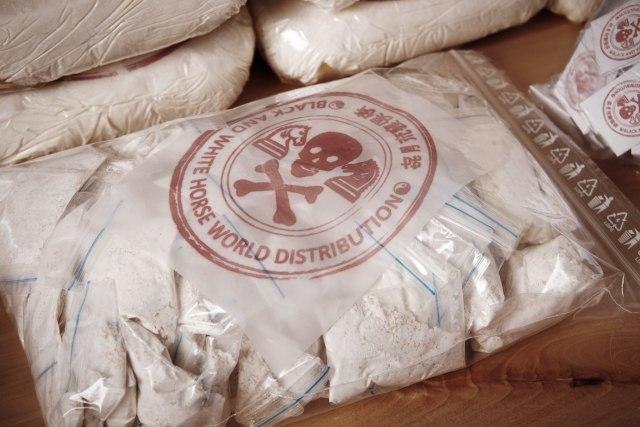 Полициско куче откри рекордна колична на хероин со вредност и до 87 милиони евра