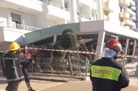 Хотел во Драч со 6.000 литри бензин под опасада на полицијата, стравуваат од нов земјотрес (ВИДЕО)
