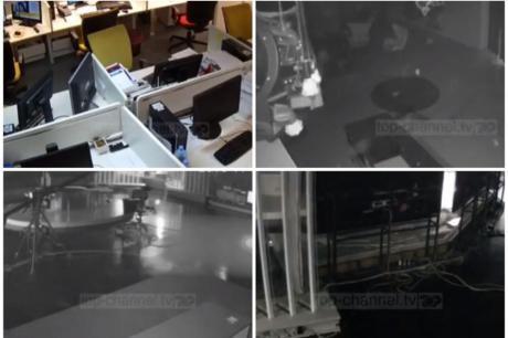 Нова снимка од земјотресот кој ја погоди Албанија: Камерите забележаа хорор (ВИДЕО)