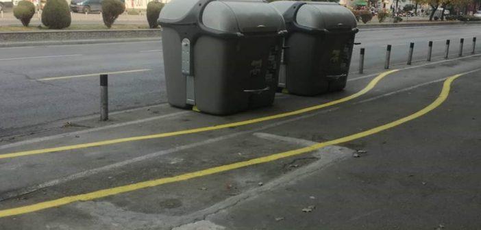 Исти контејнери, две различни метрополи, Скопје vs. Барселона