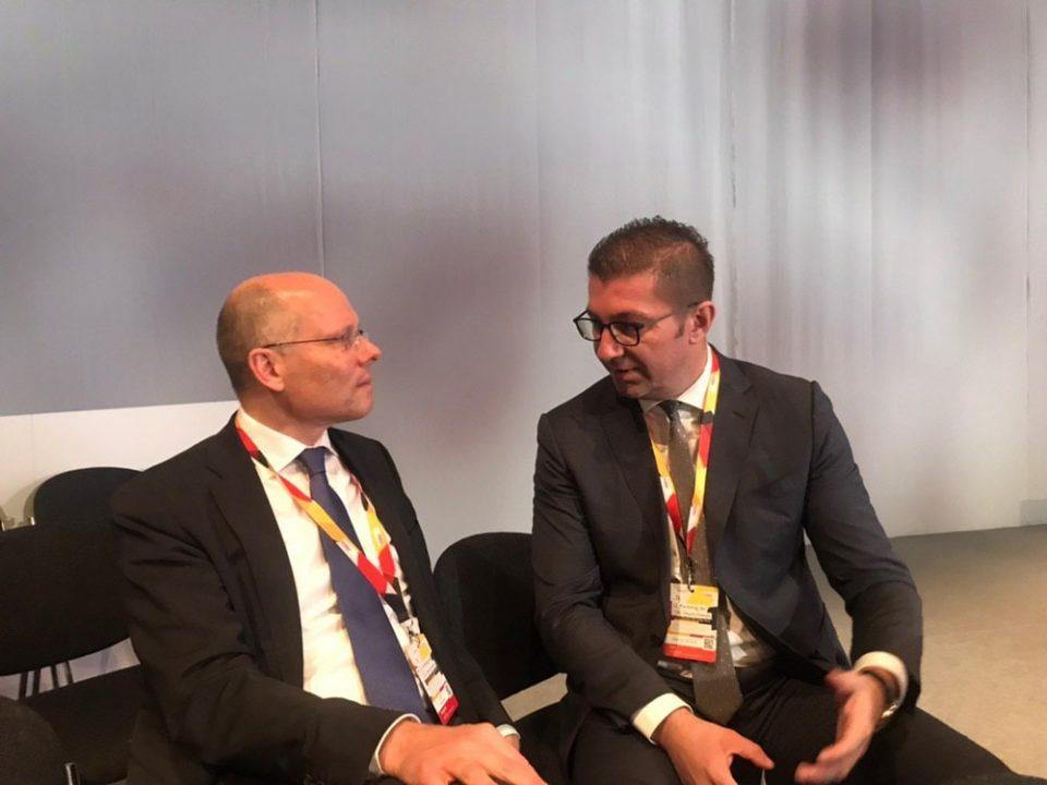 Мицкоски на средба со германскиот пратеник Питер Бајер