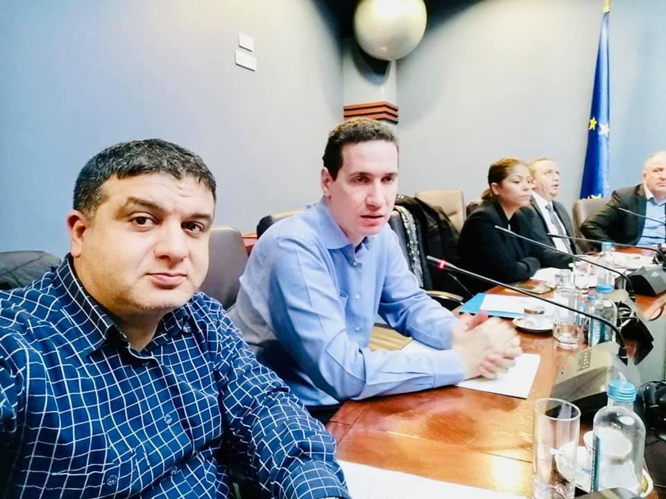 Влатко Ѓорчев на средба со ромите во македонското собрание