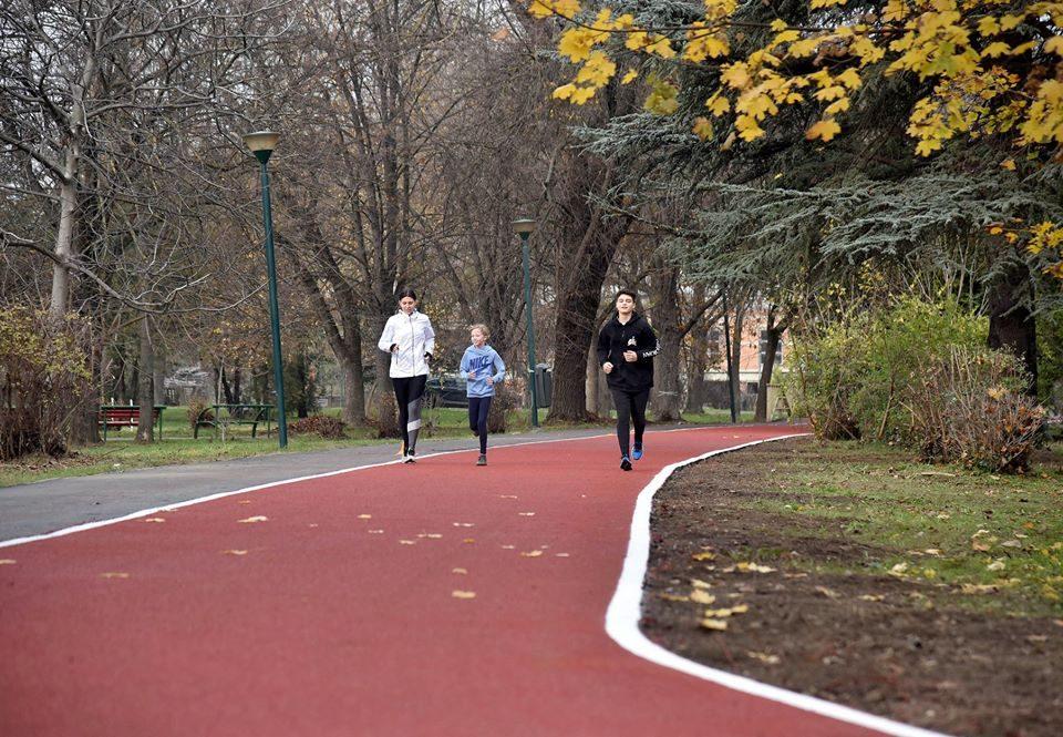 Скопје доби Тартан патека во Градски парк
