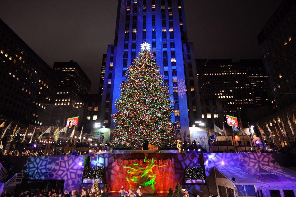 Ја купила во саксија пред 60 години, па потоа ја насадила во дворот: Елка висока 23 метри ќе блесне среде центарот на Њујорк за Божиќ (ФОТО)
