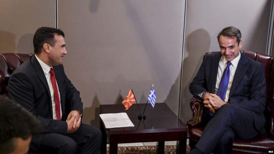 Мицотакис и Заев ќе се сретнат следната недела во Солун