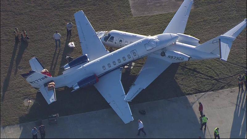 Фото: Судир на два авиони на аеродром