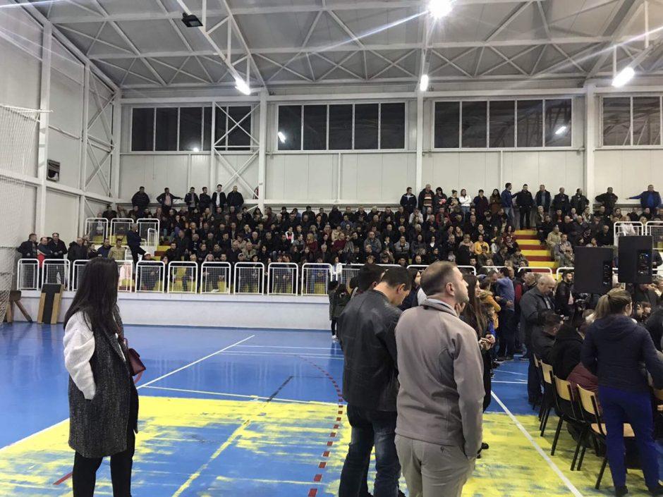 """""""На прав пат""""- Се одржа трибина на СДСМ во Делчево со голем број гости од околните општини"""