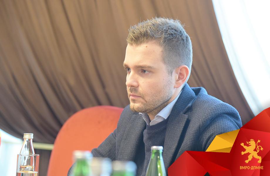 Меѓународниот секретар на ВМРО-ДПМНЕ Тимчо Муцунски оствари средба со директорот на одделот за надворешни работи на ЕУ