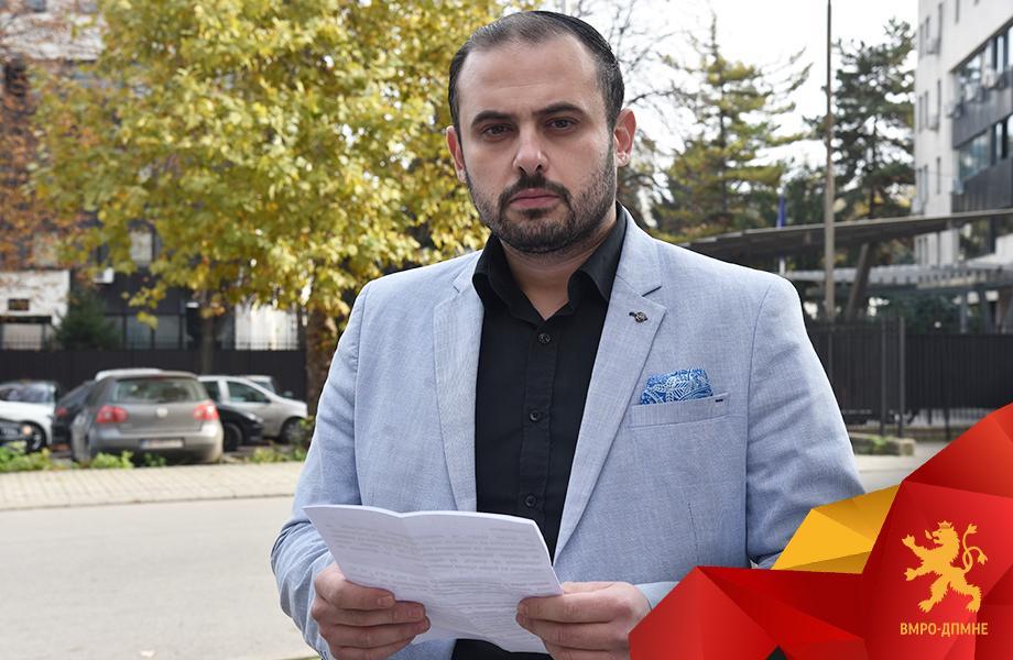 Ѓорѓиевски: Граѓаните не се плашат од заканите на партиските шерифи на СДСМ