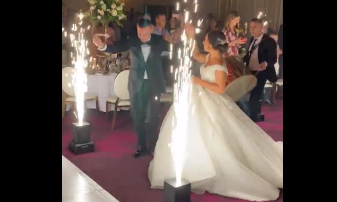 Оригинална македонска свадба во Австралија: Зет и невеста кои ќе уживате да ги гледате (Видео)
