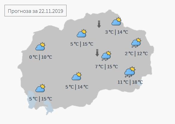 ФОТО: Какво време не` очекува до понеделник?